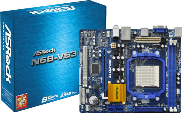 Drivers Update: Asrock N68-VS3 FX NVIDIA All-in-1