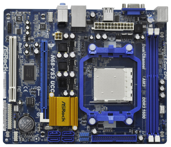 Asrock N68-GS UCC NVIDIA All-in-1 Windows Vista 64-BIT