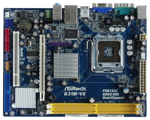 Asrock G31M-VS2 IES Drivers for Mac
