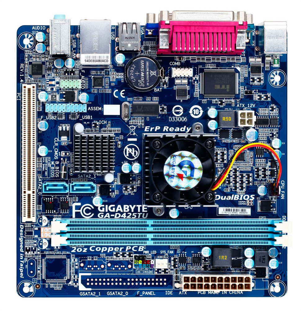 Driver for Gigabyte GA-D525TUD Intel SATA2