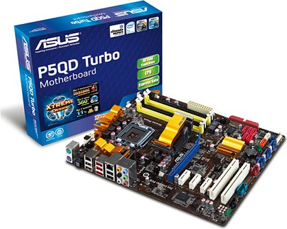 Select Asus Motherboard P5Q PRO Turbo driver for download