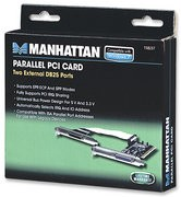 Manhattan 158237 Parallel PCI Card