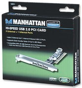 Manhattan 169011 Hi-Speed USB PCI Card